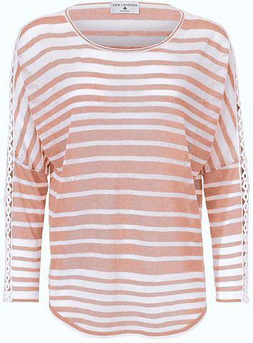 Пуловер Oversized полосатая