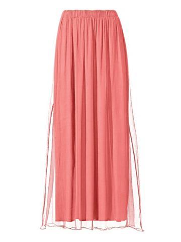 Шифоновая юбка шелк шифон