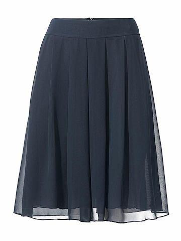 Шифоновая юбка в schwingender форма
