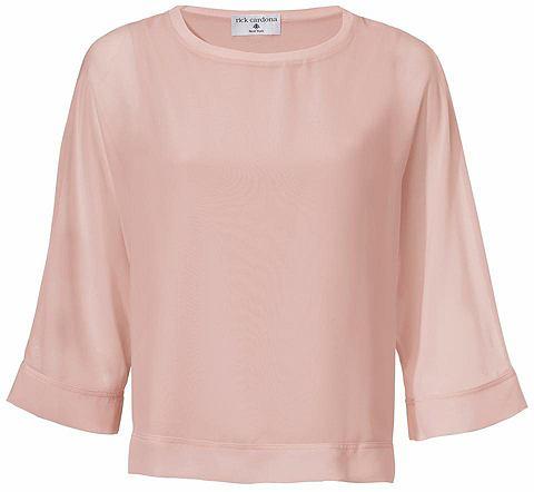 Блузка-рубашка два в одном