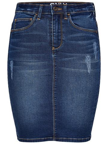 Bleistift- юбка джинсовая