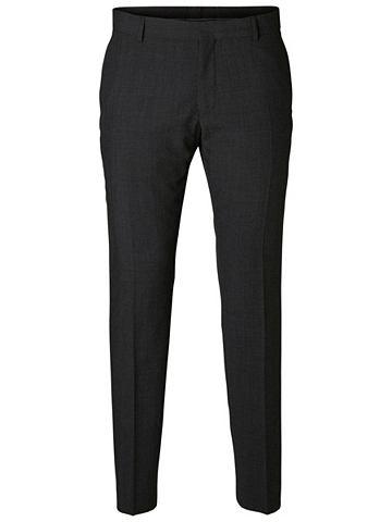Узкий форма - костюмные брюки с schr&a...