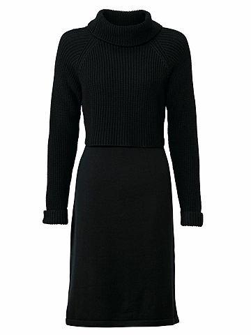 Платье трикотажное с Strickmix