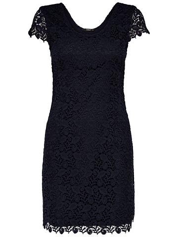 Кружева платье без рукав
