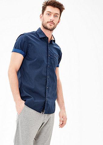 Regular: с узором рубашка с короткими ...
