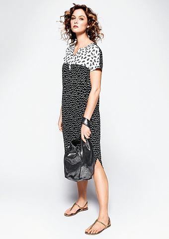 Платье с Black&White-Print