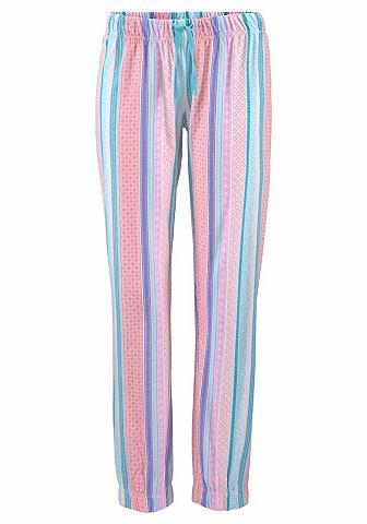 Брюки пижамные с повторяющийся узор