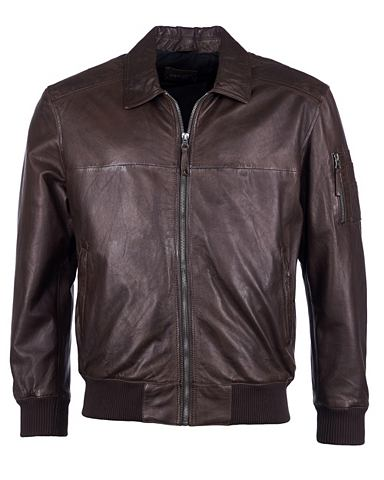 Куртка кожаная »Inso«