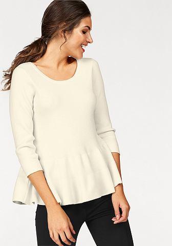 Part два пуловер с круглым вырезом &ra...