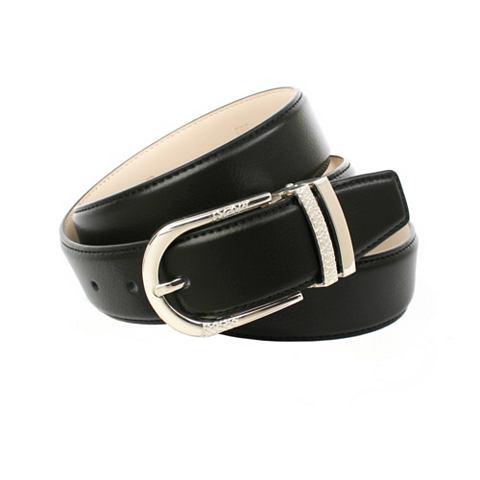 34 cm schwarzer ремень кожаный в Hirsc...