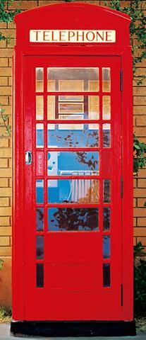Дверные обои » Telephone Box&laq...