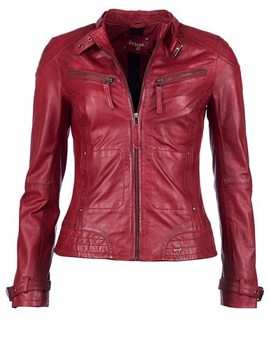 Куртка кожаная с два Brusttaschen &raq...