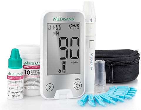 Blutzuckermessgerät Medi Touch 2 ...