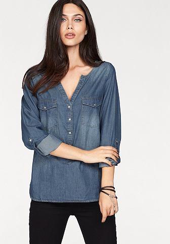 Джинсовая блузка »WYRE«