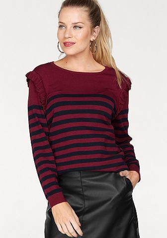 Пуловер с круглым вырезом »CATJA...