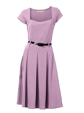 Платье из джерси Carree вырез