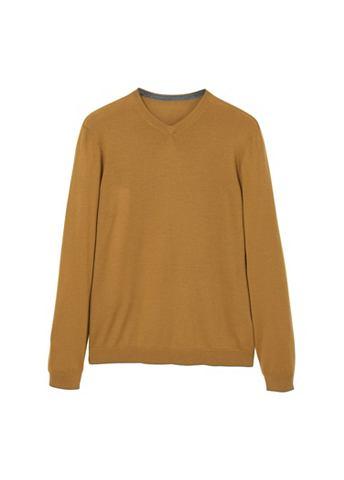 Пуловер трикотажный из Woll-Mix