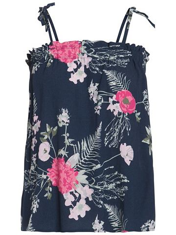 Без рукавов Blumen- блуза