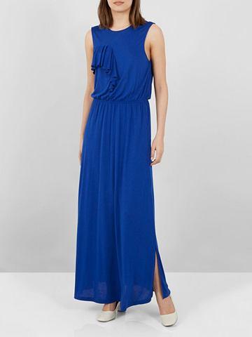 Volant- платье-макси длинное