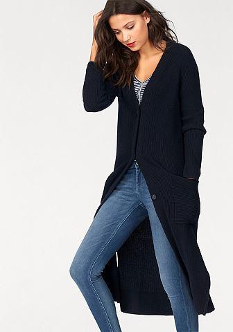 Hilfiger джинсы жакет длинный вязаный