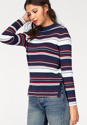 Hilfiger джинсы пуловер в полоску