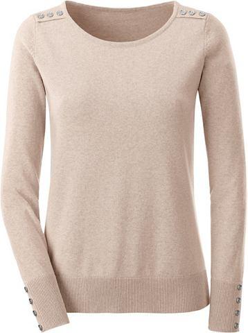 Пуловер из чистый хлопок