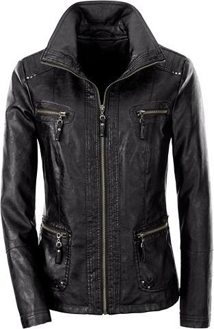 Куртка из мягкий Leder-Imitat