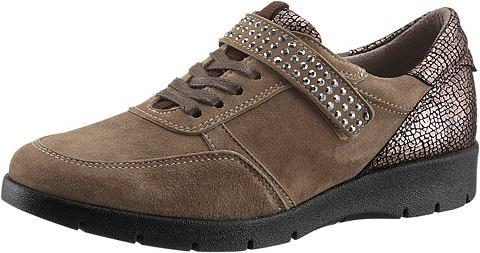 Ботинки с с сверкающий блестящие камеш...