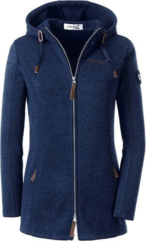 Флисовая куртка с капюшон