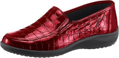 Туфли-слиперы с Krokoprägung