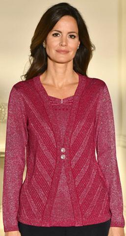 Пуловер с Glitzerdetails