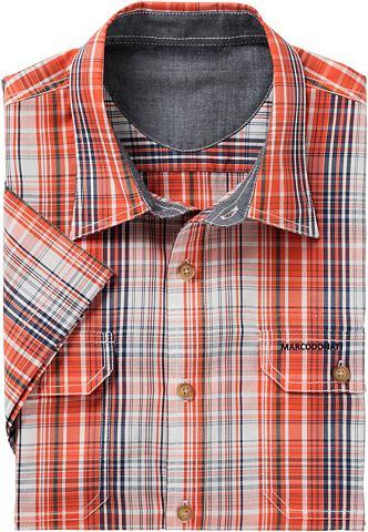 Рубашка с коротким рукавом из чистый х...