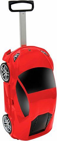 Пластиковый чемодан на колесах для дет...