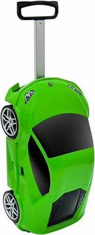 Пластиковый чемодан на колесах для Kin...