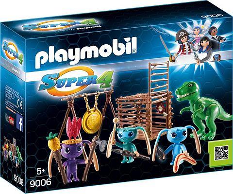 PLAYMOBIL ® Alien-Krieger с T-Rex-Falle (900...