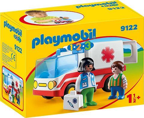 PLAYMOBIL ® Rettungswagen (9122) »1-2-...