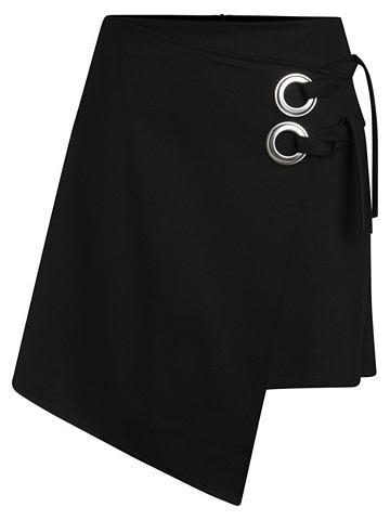 Wickel-Detail юбка