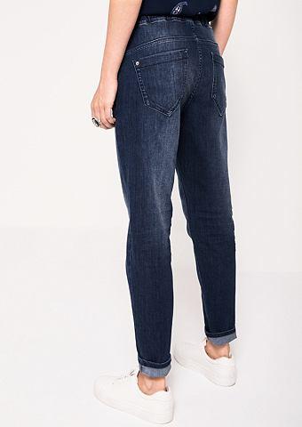 Деликатный джинсы с Bindebändern