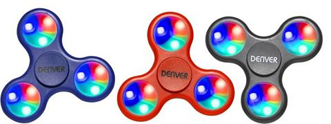 DENVER Gadget »Fidget Spinner LED«...