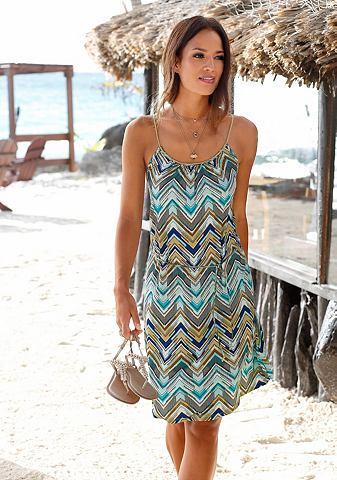 Платье пляжное с пояс