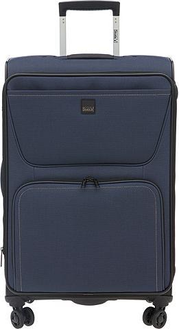 Текстильный чемодан с 2/4 колесики &ra...