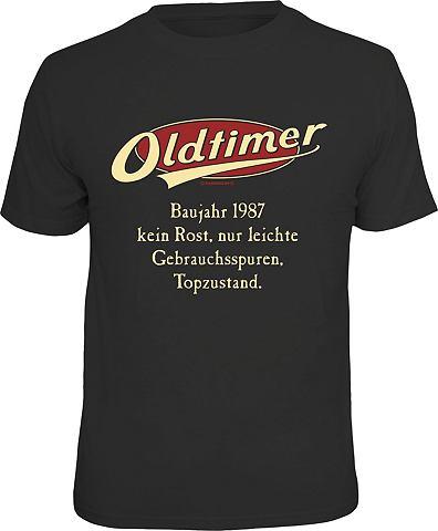 Футболка »Oldtimer Baujahr 1987&...