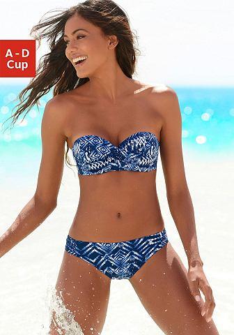 Пляжный бикини с модный повторяющийся ...