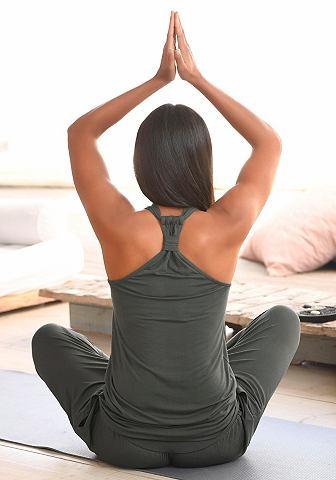Yoga & Relax топ с Racerback имита...