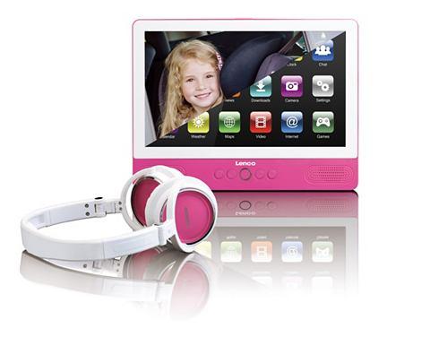 Tragbarer DVD-Player & Tablet-Funk...
