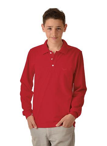 Длинный рукав рубашка поло