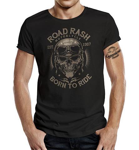 ® футболка с Frontdruck »Roa...
