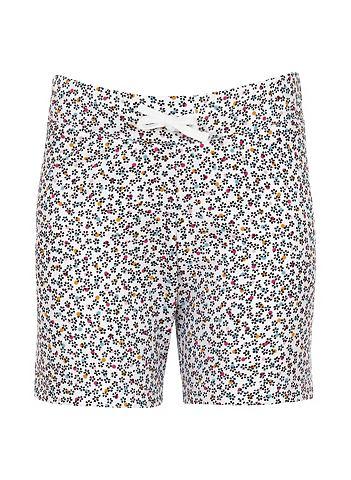 Короткий брюки цветов