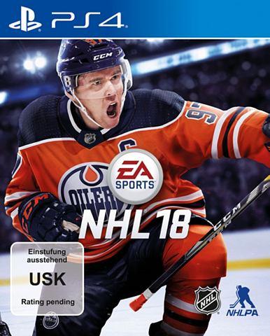 Playstation 4 - Spiel »NHL 18&la...