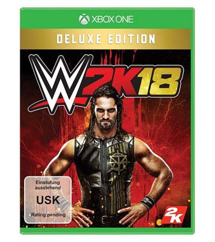XBOX One - Spiel »WWE 18 Deluxe ...